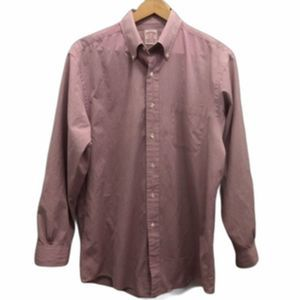 Brooks Brothers Button Down Shirt Purple 16/4